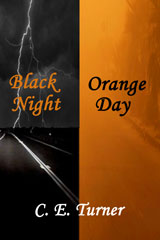 Black Night Orange Day by C E Turner